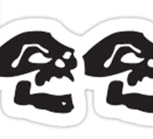 JEEP SKULLS Sticker