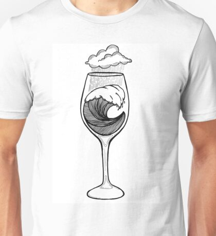 Wineglass Unisex T-Shirt