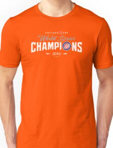 Chicago Cubs Champions 2 Unisex T-Shirt