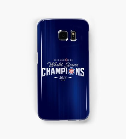 Chicago Cubs Champions 2 Samsung Galaxy Case/Skin