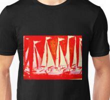 Red Yachts Regatta Unisex T-Shirt