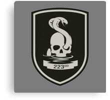 223rd Infantry Regiment Canvas Print