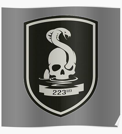 223rd Infantry Regiment Poster