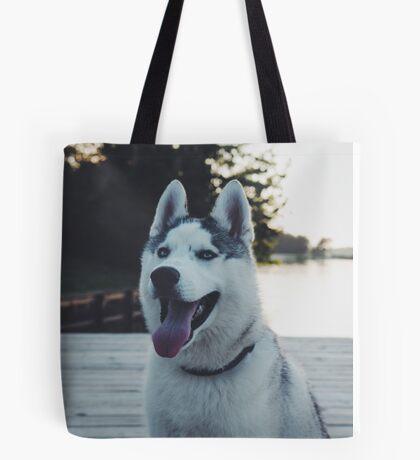 Husky Puppy! Tote Bag