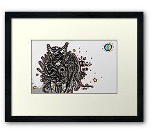 Space Girl Framed Print