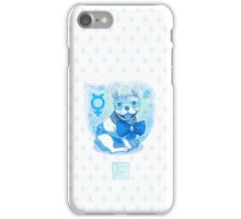 Sailor MercuFrenchie (Water Drop Pattern) iPhone Case/Skin