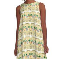 Blushing Owlet. A-Line Dress