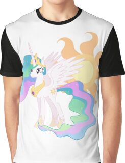 My Little Pony - Princess Celestia and Cutie Mark Graphic T-Shirt