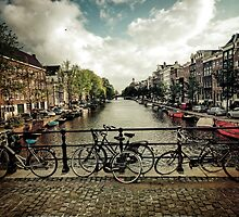 Amsterdam canal by JordanKeramidas
