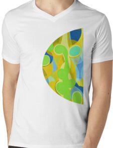 once a. m. Mens V-Neck T-Shirt