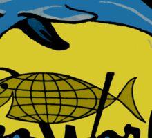 Sea World San Diego Vintage Travel Decal Sticker