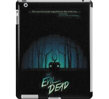 forest evil dead  iPad Case/Skin