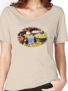 Preparing for Winter in the Candy Store  Women's Relaxed Fit T-Shirt