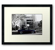 R34 - Midnight Framed Print