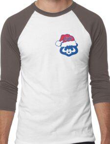 Christmas Cubs Men's Baseball ¾ T-Shirt