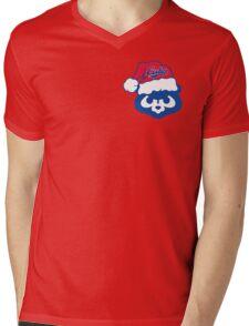 Christmas Cubs Mens V-Neck T-Shirt