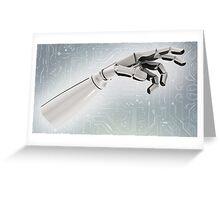 Robotic arm Greeting Card