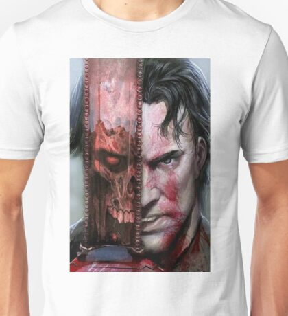 is he ash or evil Unisex T-Shirt