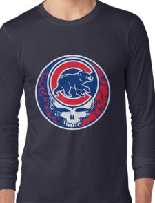 Grateful Cubs Long Sleeve T-Shirt