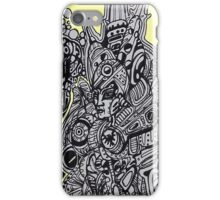 Sci-fi Visitor 5  iPhone Case/Skin