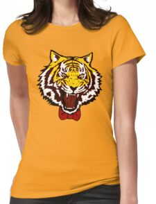 yuri tiger high resolution vector Womens Fitted T-Shirt