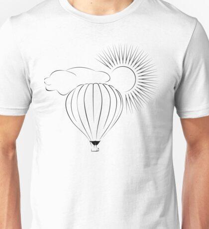 Balloon Cloud Sun Unisex T-Shirt