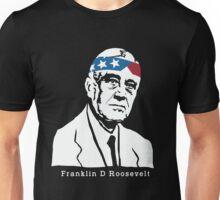 President Franklin Roosevelt American Patriot Vintage Unisex T-Shirt