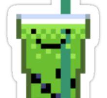 Green Tea Boba Sticker