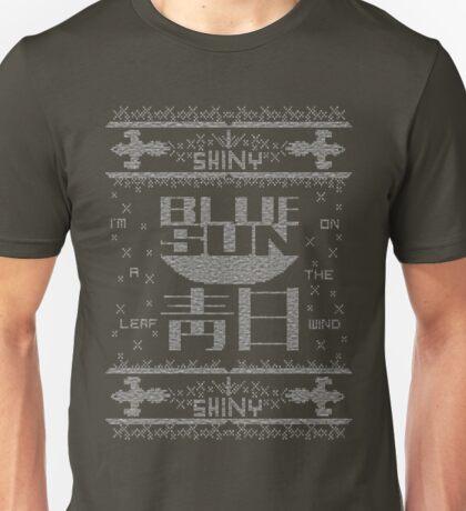 Firefly Blue sun ugly christmas T-Shirt  Unisex T-Shirt