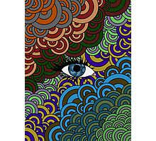 Multi-Colored Abstract Case Photographic Print