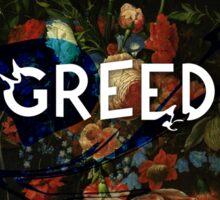 greed Sticker
