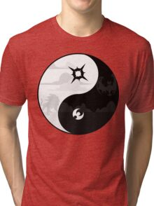 Sun and Moon Yin and Yang Tri-blend T-Shirt
