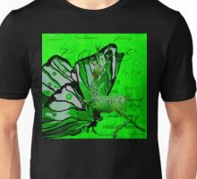 REINDEER AND BUTTERFLIES Unisex T-Shirt