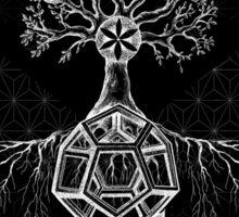 Divine balance Sticker