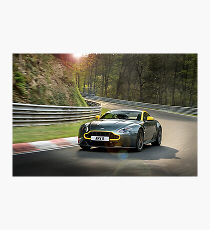 Aston Martin V8 Vantage N430 - Shot on Location at the Nurburgring. Photographic Print