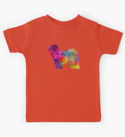 Puli in watercolor Kids Tee