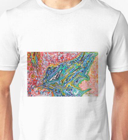 SPACE EATER ORIGINAL ART Alien Predator Unisex T-Shirt