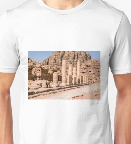 Jordan, Petra, UNESCO World Heritage Site Unisex T-Shirt