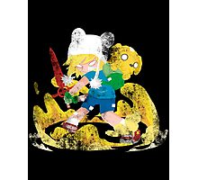 Little Big Heroes Adventure Time Photographic Print