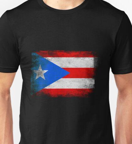 Puerto Rico State Flag Distressed Vintage Shirt Unisex T-Shirt