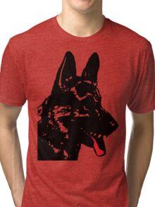 BEWARE DOG Tri-blend T-Shirt