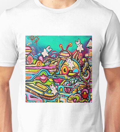 zero gravity land Unisex T-Shirt