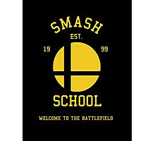 Smash School (Yellow) Photographic Print
