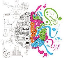 Creative Brain Chemistry Photographic Print