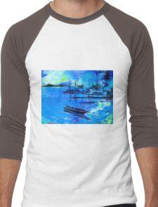 Blue Dream 2 Men's Baseball ¾ T-Shirt