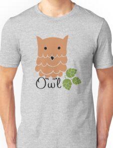 Cute cartoon owls Unisex T-Shirt