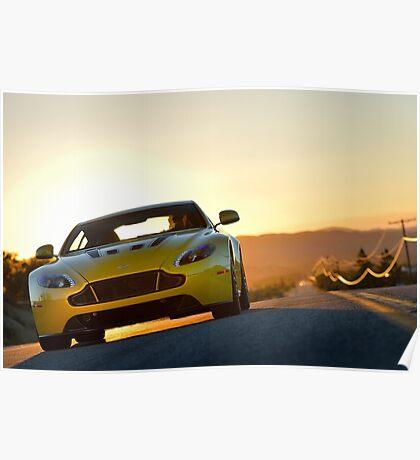 Aston Martin V12 Vantage S - Shot on Location in California.  Poster