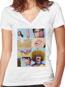 Valderrama Women's Fitted V-Neck T-Shirt
