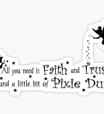 Tinker Bell Pixie Dust Sticker