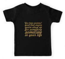 "You have enemies... ""Winston Churchill"" Inspirational Quote Kids Tee"